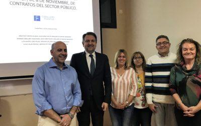 Caballero&Fuentes imparte un curso sobre contratación pública en Herencia.