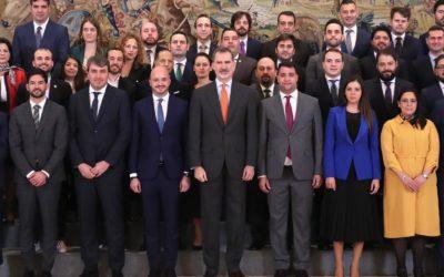 Audiencia de los Jóvenes Empresarios ante S.M. el Rey Felipe VI